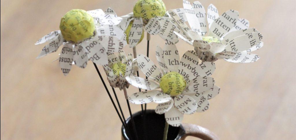 DIY Workshop Papier-Blumen Echte Kamille